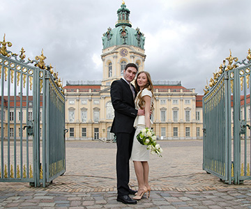 Wedding in the castle in Denmark